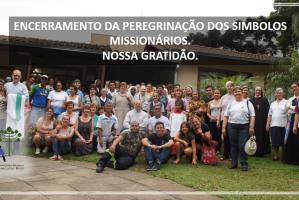 Encerramento da Peregrinação dos Símbolos Missionários - CRB Regional Curitiba.