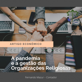 A PANDEMIA E A GESTÃO DAS ORGANIZAÇÕES RELIGIOSAS