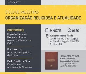 Ciclo de Palestras: Organização Religiosa e Atualidade