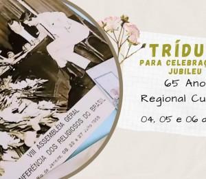 Tríduo para Celebração do Jubileu de 65 anos CRB-Regional Curitiba
