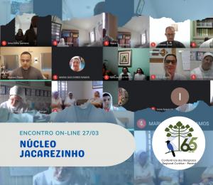 Reunião On-line do Núcleo Jacarezinho