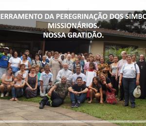 Encerramento do Mês Missionário e da Peregrinação dos Símbolos Missionários em nosso Regional.