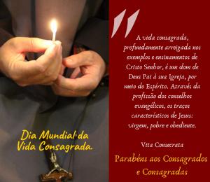 Salve a Vida Religiosa Consagrada