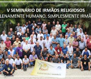 V Seminário de Religiosos Irmãos em Fortaleza.