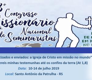 3º Congresso Missionário Nacional de Seminaristas